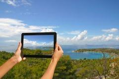 Prendre des photos Image libre de droits