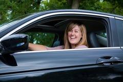 Prendre un véhicule neuf Photographie stock libre de droits