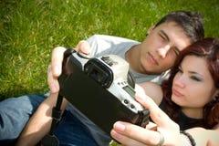 Prendre une photo Photographie stock libre de droits