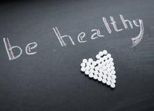Prenez soin de votre santé image stock