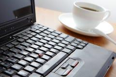 Prenez un reste, ayez une cuvette de café Photographie stock libre de droits