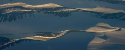 Prenez une photo de la glace sur le ‰ de ¼ du ¼ ˆ3ï de straitï de Béring photo libre de droits