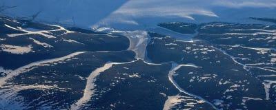 Prenez une photo de la glace sur le ‰ de ¼ du ¼ ˆ5ï de straitï de Béring photo stock