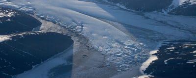 Prenez une photo de la glace sur le ‰ de ¼ du ¼ ˆ6ï de straitï de Béring photos libres de droits