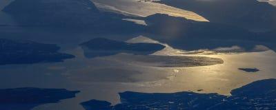 Prenez une photo de la glace sur le ‰ de ¼ du ¼ ˆ11ï de straitï de Béring images libres de droits