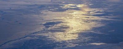 Prenez une photo de la glace sur le ‰ de ¼ du ¼ ˆ16ï de straitï de Béring images stock