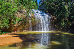 Prenn is one of the waterfalls of Da lat Royalty Free Stock Photo