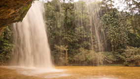 Prenn Waterfall. Da lat. Prenn is one of the waterfalls retained the pristine of the Highland mountains. 10 km south of stock footage