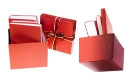 Prenota il regalo fotografie stock libere da diritti