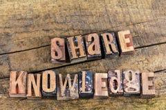 Prensa de copiar de enseñanza de la educación del conocimiento de la parte Fotos de archivo