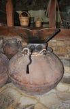 Prensa de vino vieja imagen de archivo libre de regalías