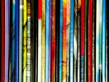 Prensa multicolor fotos de archivo libres de regalías