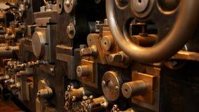 Prensa vieja - principio de la impresión en offset