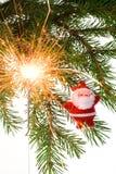 Prentbriefkaar 13 van Kerstmis royalty-vrije stock foto