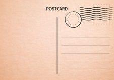 prentbriefkaar Briefkaartillustratie voor uw ontwerp Reiskaart royalty-vrije illustratie