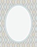 Prentbriefkaar, grijs kader, ruiten, meetkunde, vlakke kleur, Royalty-vrije Stock Foto