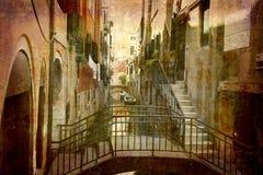 Prentbriefkaar van Italië (reeks) stock fotografie