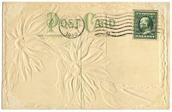 Prentbriefkaar vanaf 1910 Stock Foto