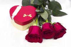 Prentbriefkaar voor de Dag van de Valentijnskaart `s Royalty-vrije Stock Afbeeldingen