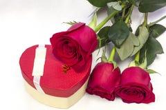Prentbriefkaar voor de Dag van de Valentijnskaart `s Stock Foto