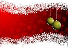 Prentbriefkaar - Vrolijke Christmas2 Stock Afbeelding