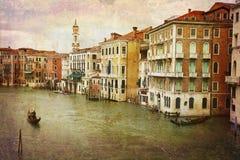 Prentbriefkaaren van Italië (reeks) stock afbeelding