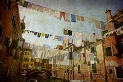 Prentbriefkaaren van Italië (reeks) royalty-vrije stock foto