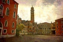 Prentbriefkaaren van Italië (reeks) Royalty-vrije Stock Fotografie