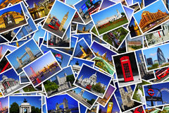 Prentbriefkaaren van Londen Stock Fotografie