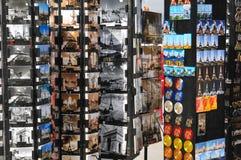 Prentbriefkaaren van Parijs Stock Afbeeldingen