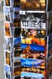Prentbriefkaaren van Parijs Stock Foto's