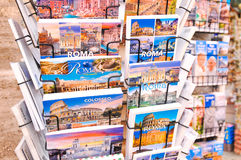 Prentbriefkaaren van Rome Stock Foto