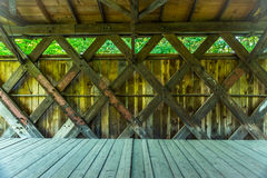 Prentiss Bridge Langdon New Hampshire Stock Photos
