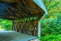 Prentiss Bridge Langdon New Hampshire Royalty Free Stock Photos
