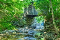 Prentiss Bridge Langdon New Hampshire Royalty Free Stock Image