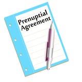 Prenuptial agreement Royalty Free Stock Image