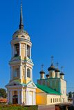 Preobrazhenskiy church of the city of Voronezh Royalty Free Stock Photography