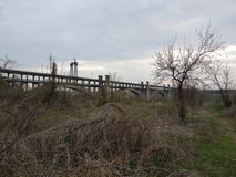 Preobrazhenskoho桥梁 库存图片