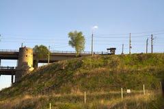 Preobrazhensky桥梁 库存照片