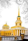 Preobrazhensky cathedral Stock Photos