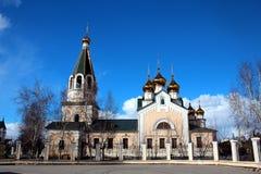 Preobrazhensky katedra Yakutsk Zdjęcie Stock
