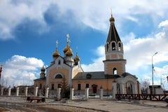 Preobrazhensky katedra Yakutsk Zdjęcia Royalty Free