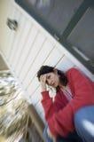 Preocupação da mulher Fotografia de Stock Royalty Free