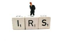 Preocupe con el IRS Imágenes de archivo libres de regalías