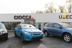 Preowned Vehicles for Sale in PA - Ciocca Dealerships. Philadelphia, Pennsylvania, May 7, 2018: Preowned Vehicles for Sale in PA - Ciocca Dealerships stock image