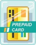 Prepaid Card vector. Eps file Royalty Free Stock Photos