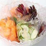 Prepaid vegetable salad Stock Photography