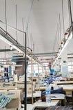 Preparação da corrente da produção industrial Fotos de Stock Royalty Free