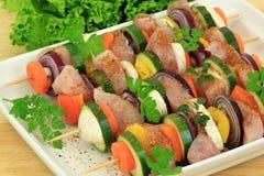 Preparação de alimento Imagem de Stock