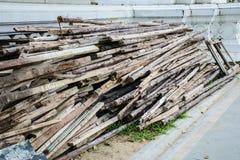 Preparação de madeira Fotos de Stock Royalty Free